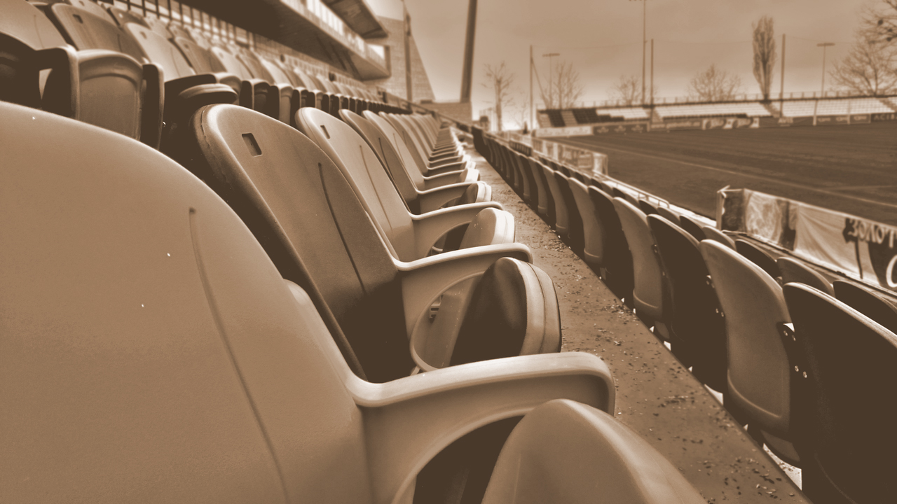 Sellout Marketing Cover Photo - Stadium Seating at Arena